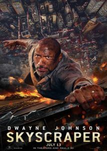 skyscraper movie poster