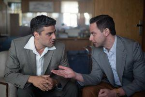 Oscar Isaac and Nick Kroll star in OPERATION FINALE
