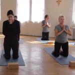 Praying during exercise