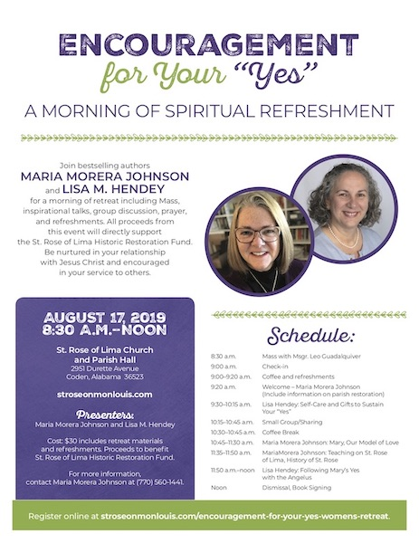 Encouragement for Your Yes: A Morning of Spiritual Refreshment